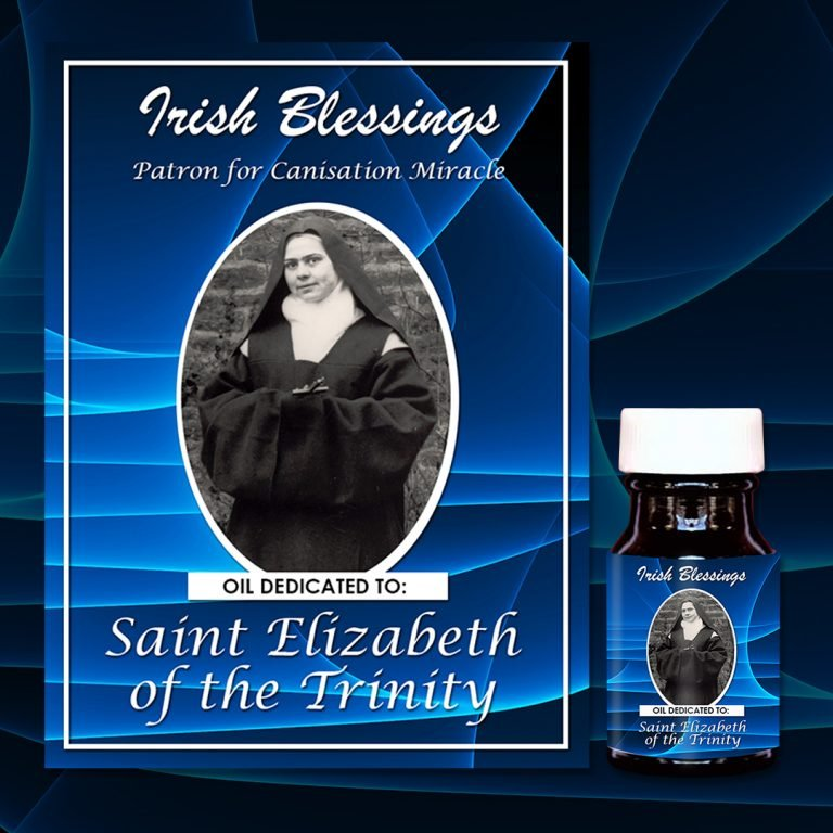 St Elizabeth of the Trinity healing oil (Patron for Canisation Miracle)