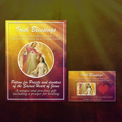 Blessed Mary of the Divine Heart Prayer Cloth