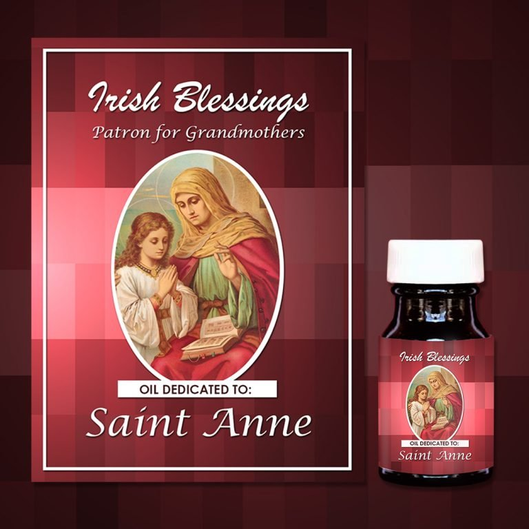 St Anne Healing Oil (Patron for Grandmothers)
