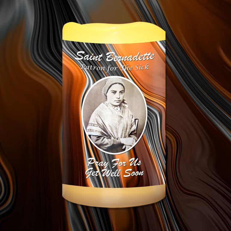 St Bernadette Patron for the Sick