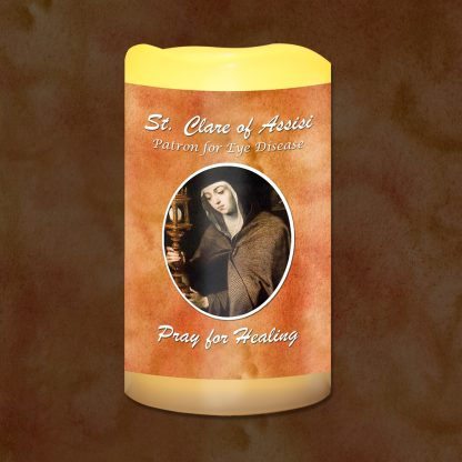 St Clare of Assisi Patron for Eye Disease