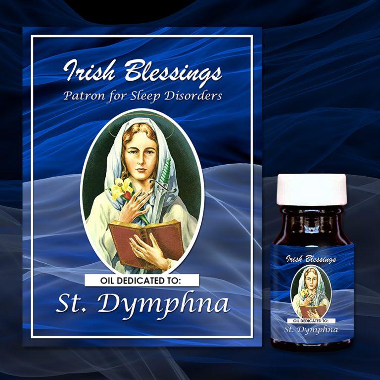 St Dymphna Healing Oil (Patron for Sleep disorders)