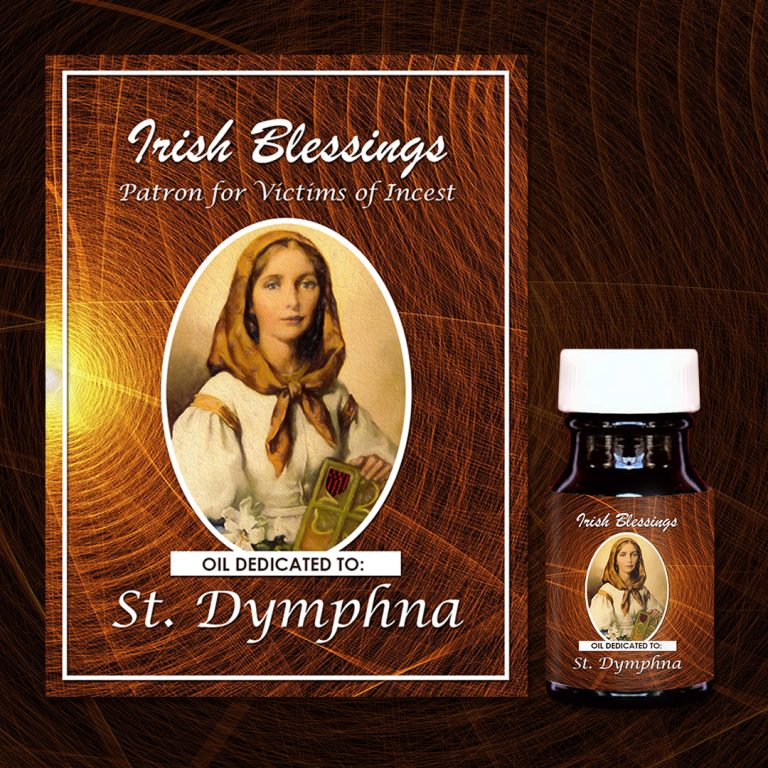 St Dymphna Healing Oil (Patron for victims of Incest)