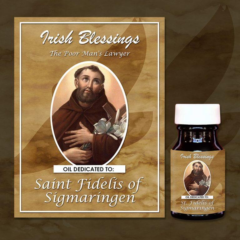 St Fidelis of Sigmaringen Healing Oil (The poor man's Lawyer)