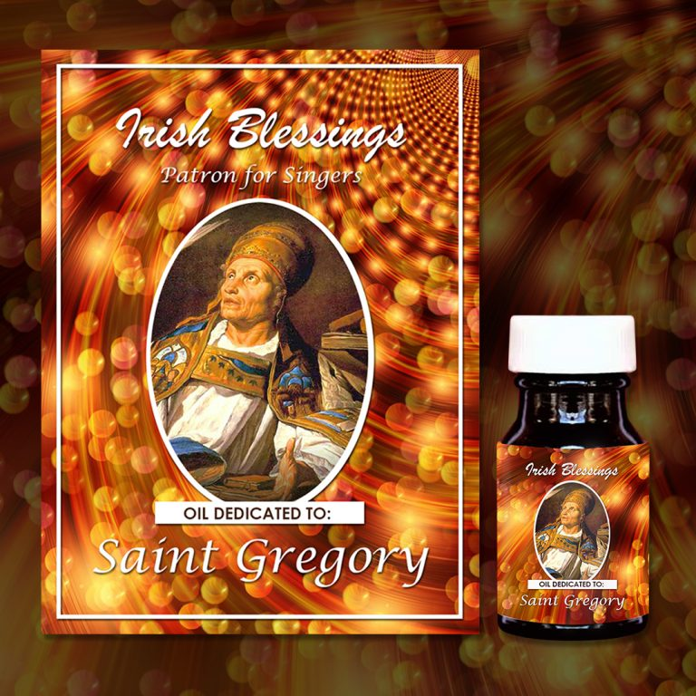 St Gregory The Great Healing Oil (Patron for Singers)
