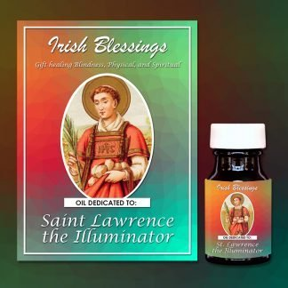 St Lawrence the Illuminator Healing Oil (Gift healing Blindness physical and spiritual)