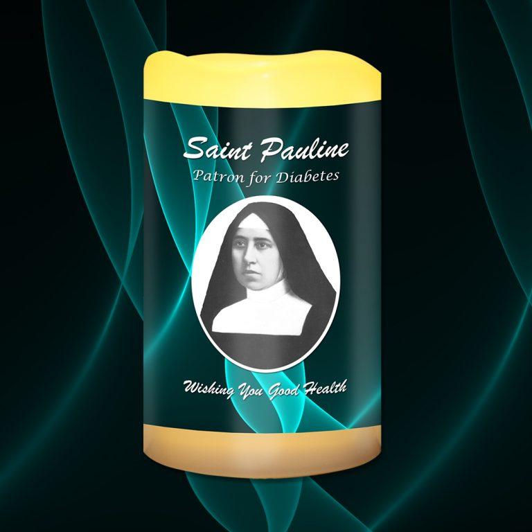 St Pauline Patron for Diabetes