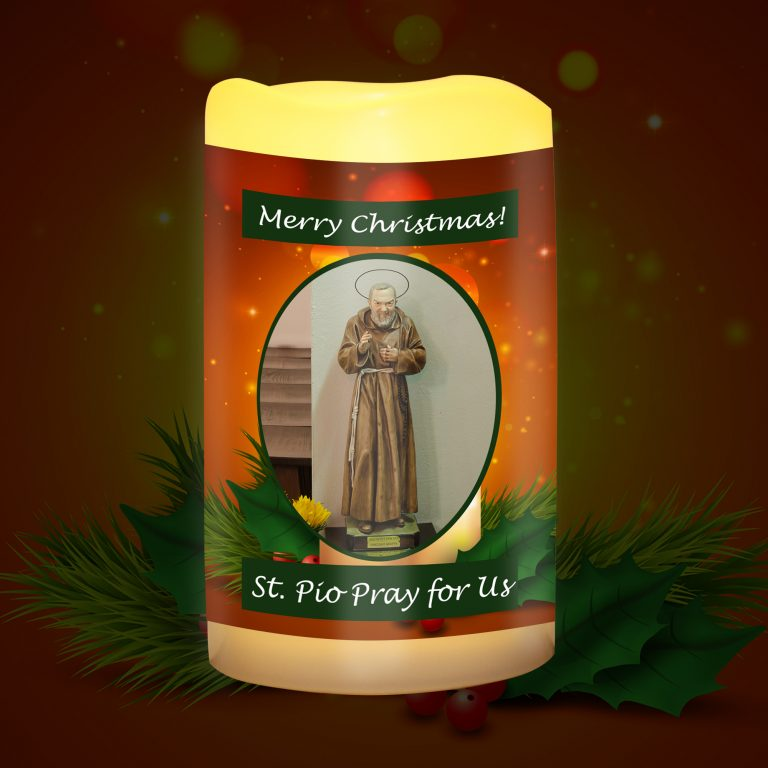 St Pio Candle