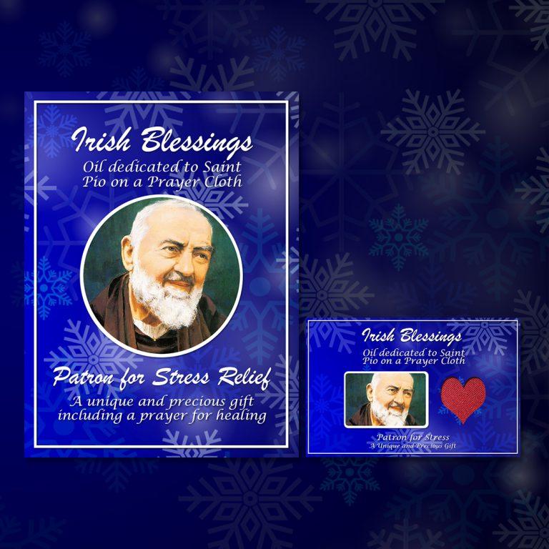 St Pio on Prayer Cloth