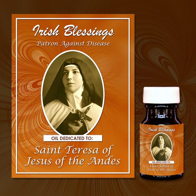 St Teresa of Jesus of the Andes Healing Oil (Patron against Disease)