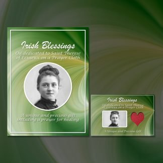 St Therese Leisieux on Prayer Cloth
