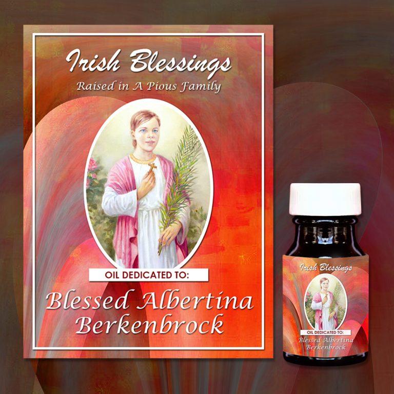 Blessed Albertina Berkenbrock Healing Oil