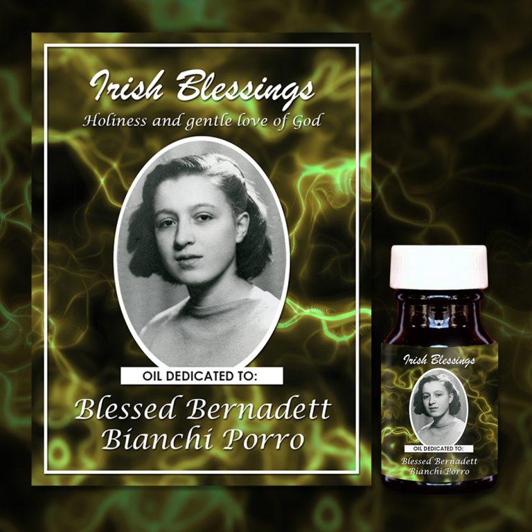 Blessed Bernadett Bianchi Porro Healing Oil