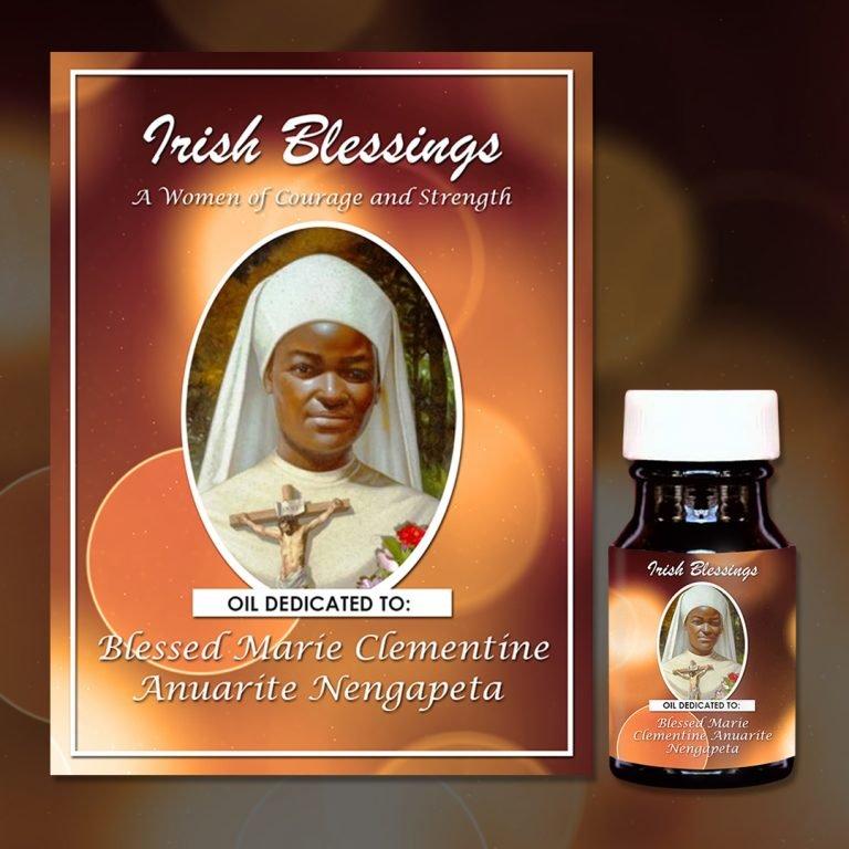 Blessed Marie Clementine Anuarite Nengapeta Healing Oil