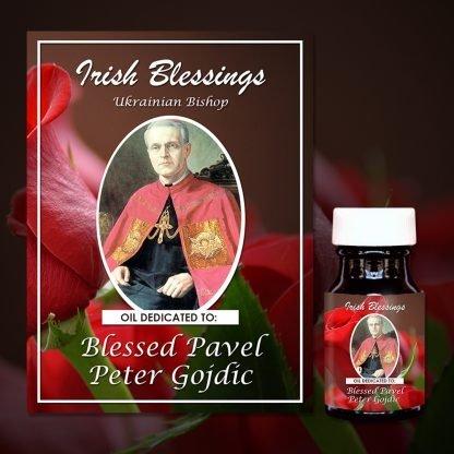 Blessed Pavel Peter Gojdic (Ukrainian Bishop) Healing Oil