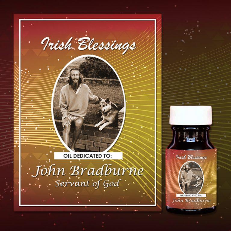 John Bradburne Healing Oil