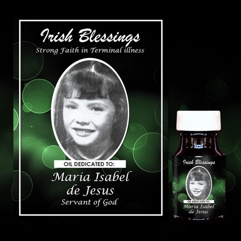 Maria Isabel de Jesus Healing Oil