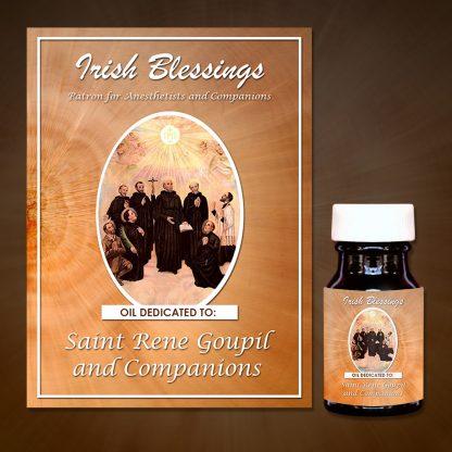 Saint Rene Goupil And Companions Healing Oil