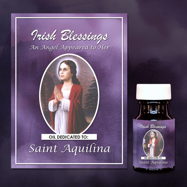 St Aquilina Healing Oil (An Angel Appeared to Her)