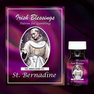 St Bernadine Healing Oil (Patron for Gambling)