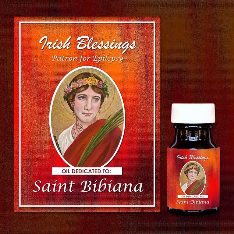 St Bibiana Healing Oil (Patron for Epilepsy)