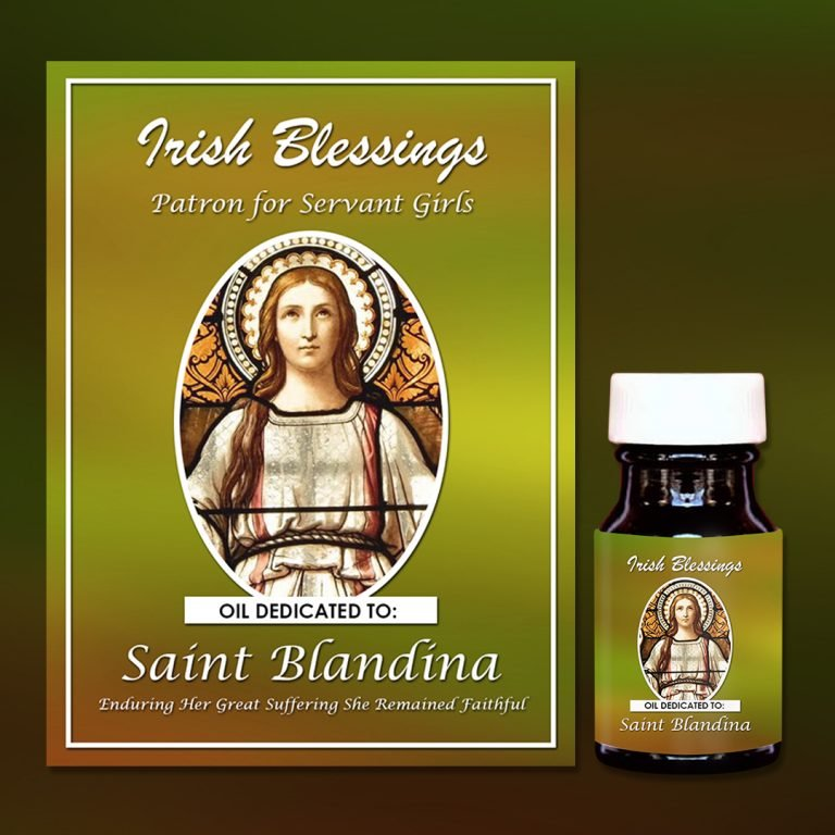 St Blandina Healing Oil (Patron for Servant Girls, She Remained Faithful)