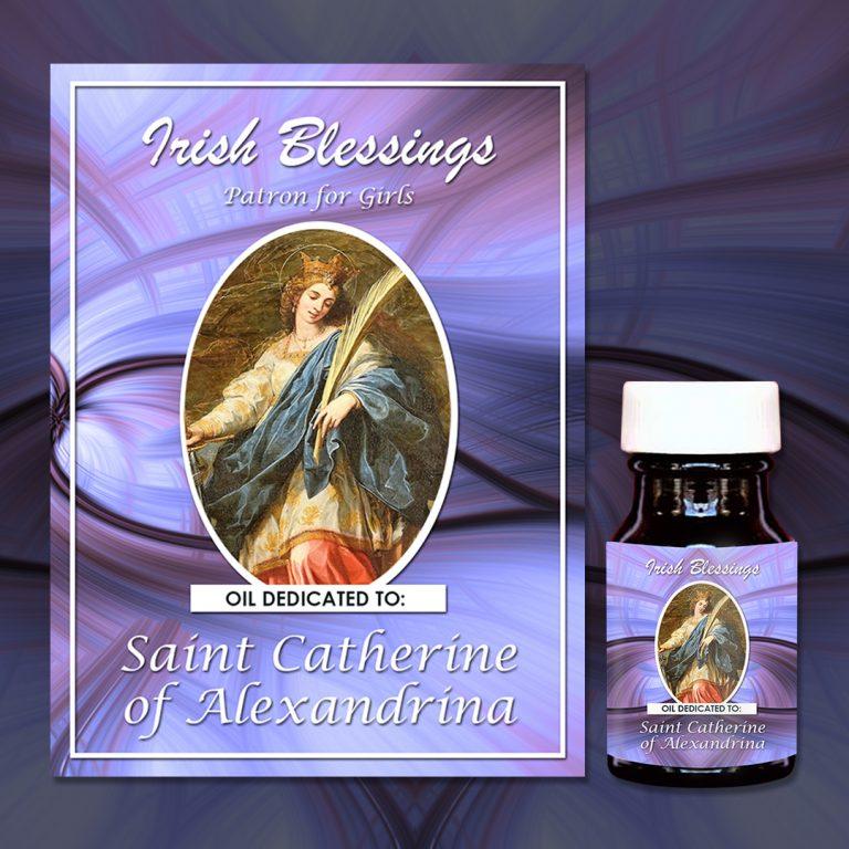 St Catherine Alexandrina Healing Oil (Patron for Girls)