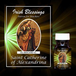 St Catherine of Alexandrina Healing Oil (Patron for Teachers)