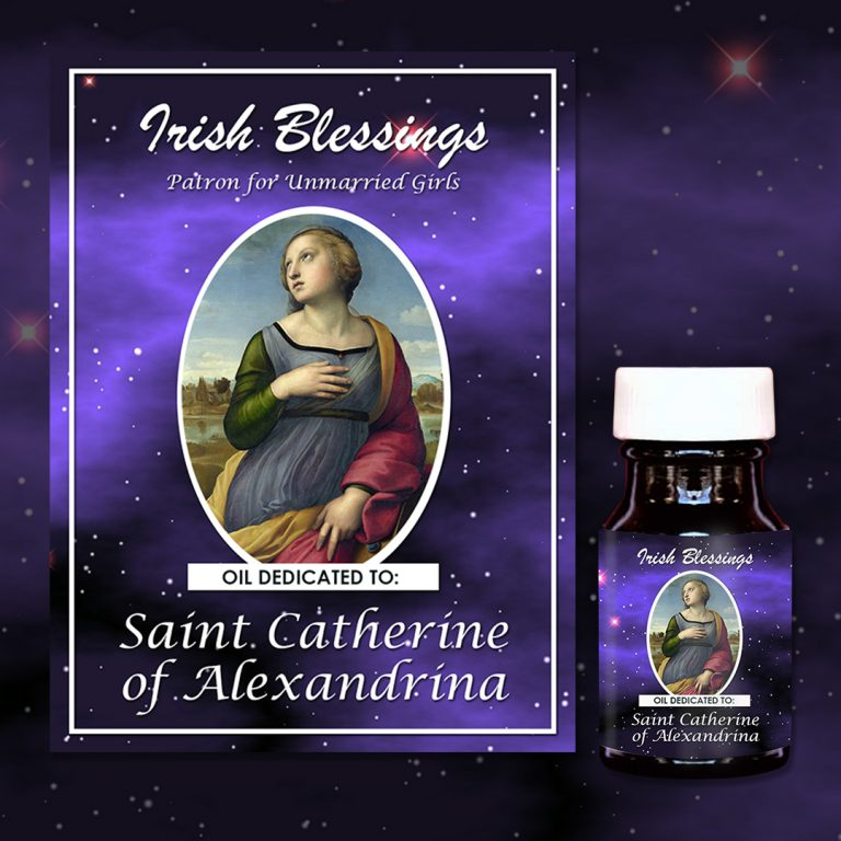 St Catherine of Alexandrina Healing Oil (Patron for Unmarried Girls)