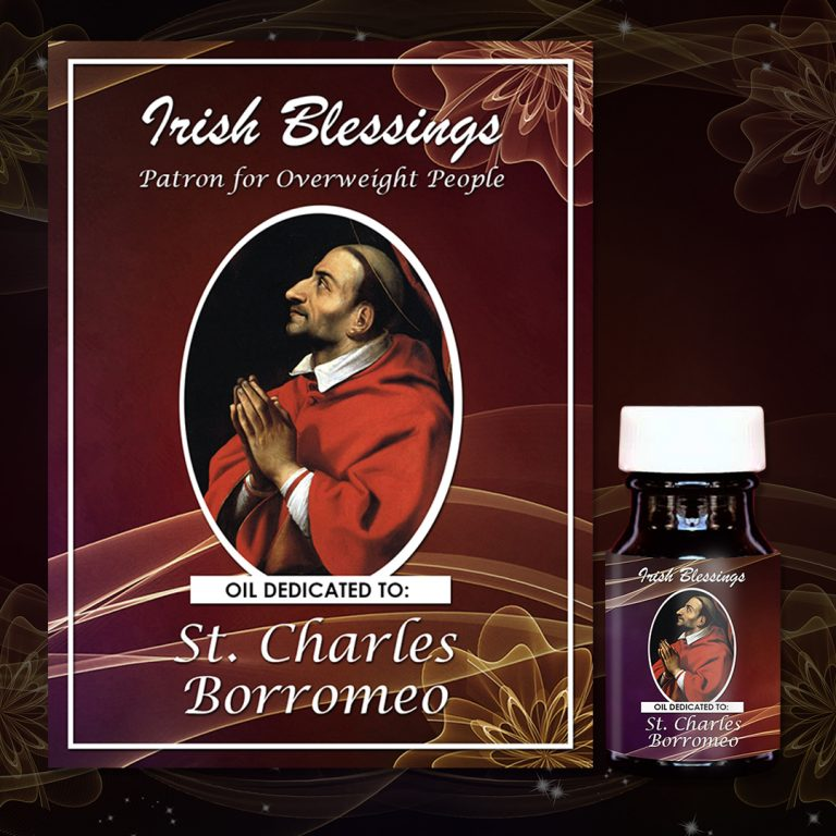 St Charles Borromeo Healing Oil(Patron for Overweight People)