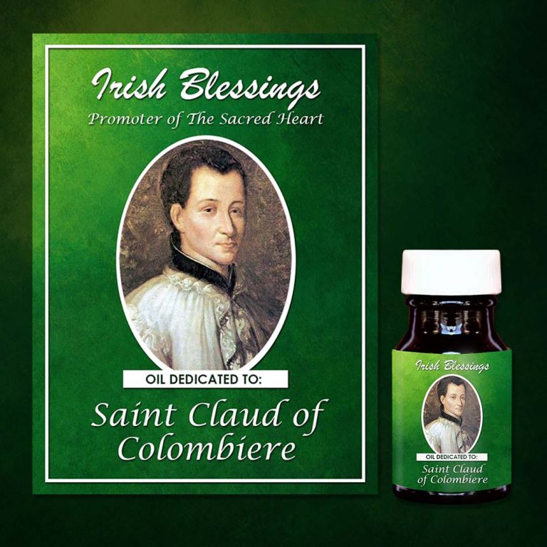St Claud of Colombiere Healing Oil (Promoter of the Sacred Heart)