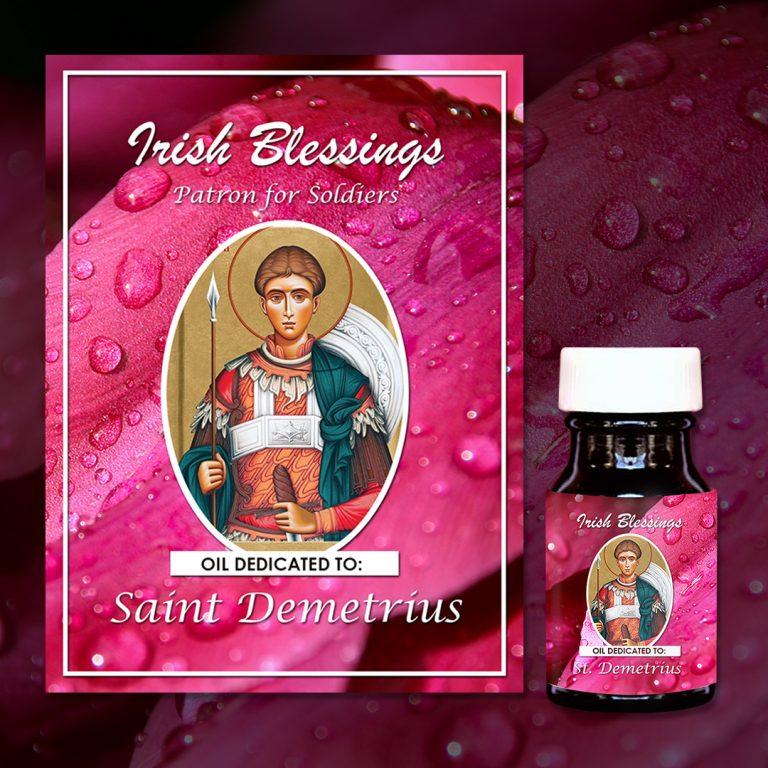 St Demetrius Healing Oil (Patron for Soldiers)