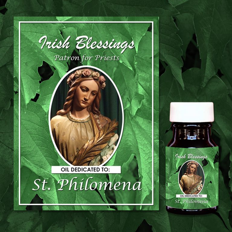 St Philomena Healing Oil (Patron for Priests)