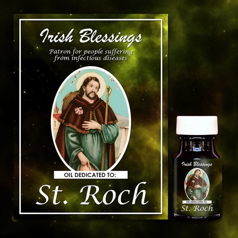 St Roch Healing Oil (Patron for people suffering from infectious diseases)