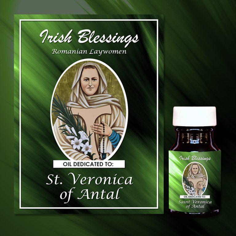 St Veronica of Antal Healing Oil (Romanian Laywomen)