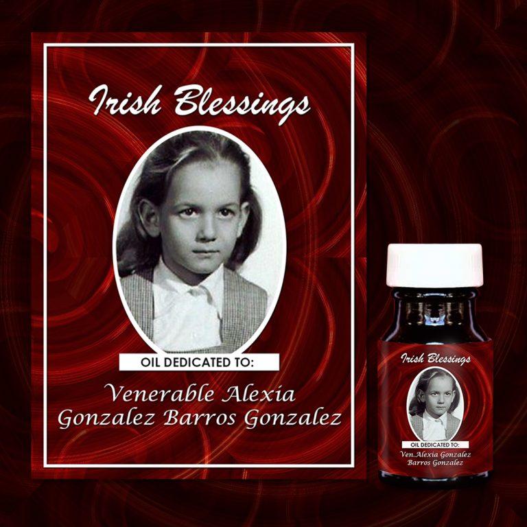 Venerable Alexia Gonzalez Barros Gonzalez Healing Oil