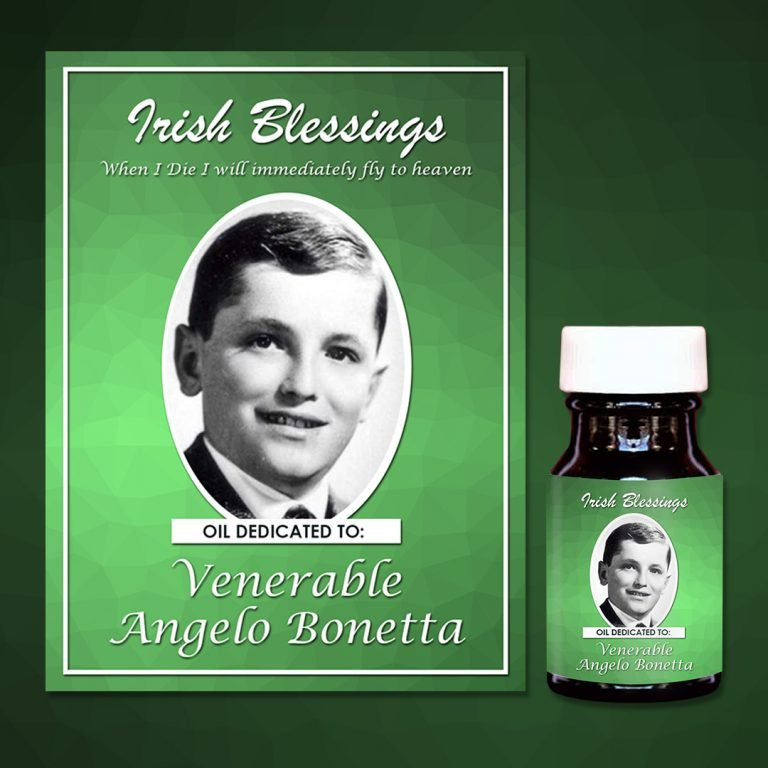 Venerable Angelo Bonitta Healing Oil
