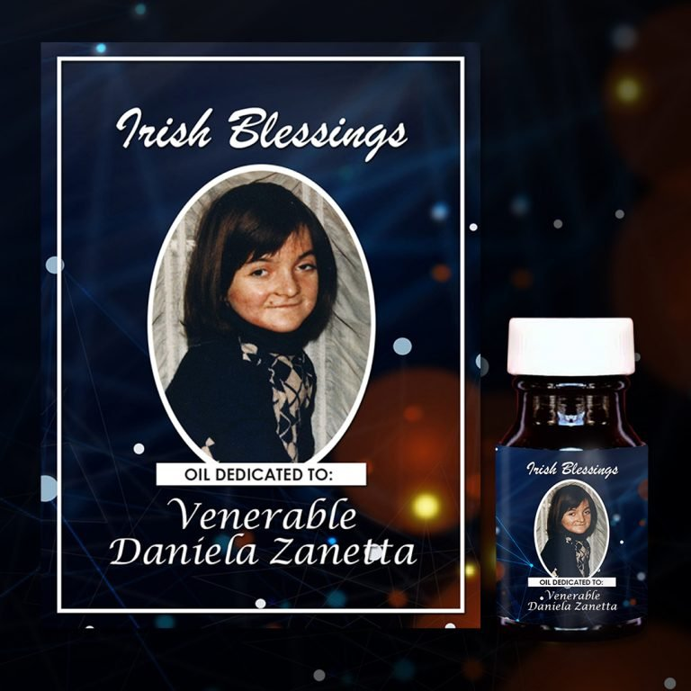 Venerable Daniela Zanetta Healing Oil