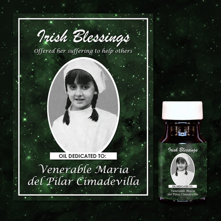 Venerable Maria del Pilar Cimadevilla Healing Oil