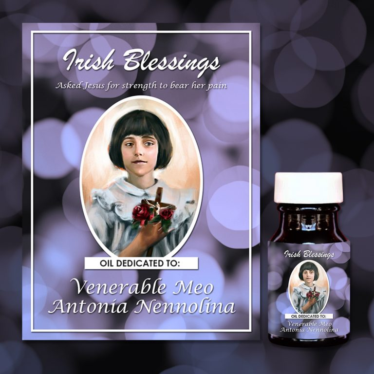 Venerable Meo Antonia Nennolina Healing Oil