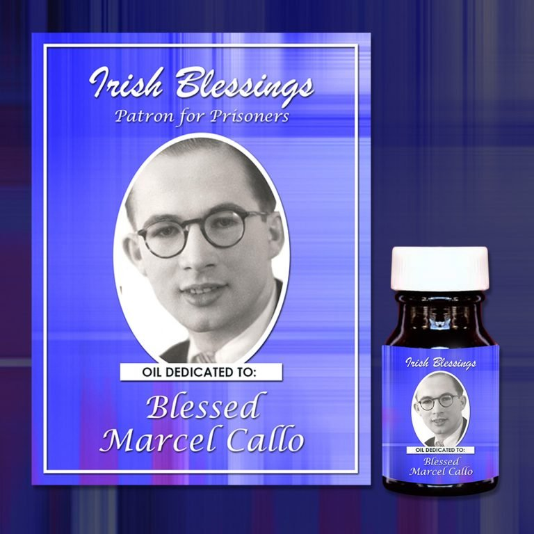 Blessed Marcel Callo Healing Oil (Patron for Prisoners)