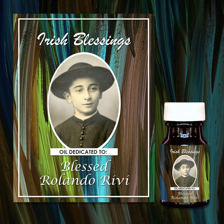 Blessed Rolando Rivi Healing Oil