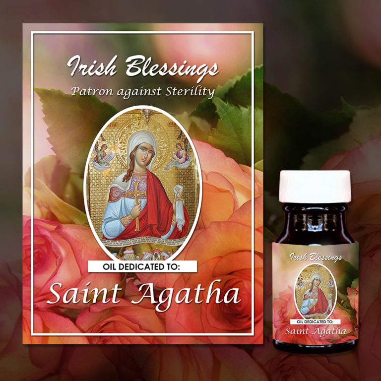 St Agatha Healing Oil (Patron Against Sterility)