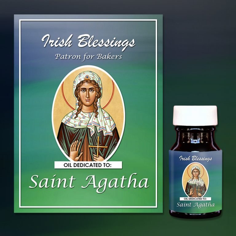 St Agatha Healing Oil (Patron for Bakers)