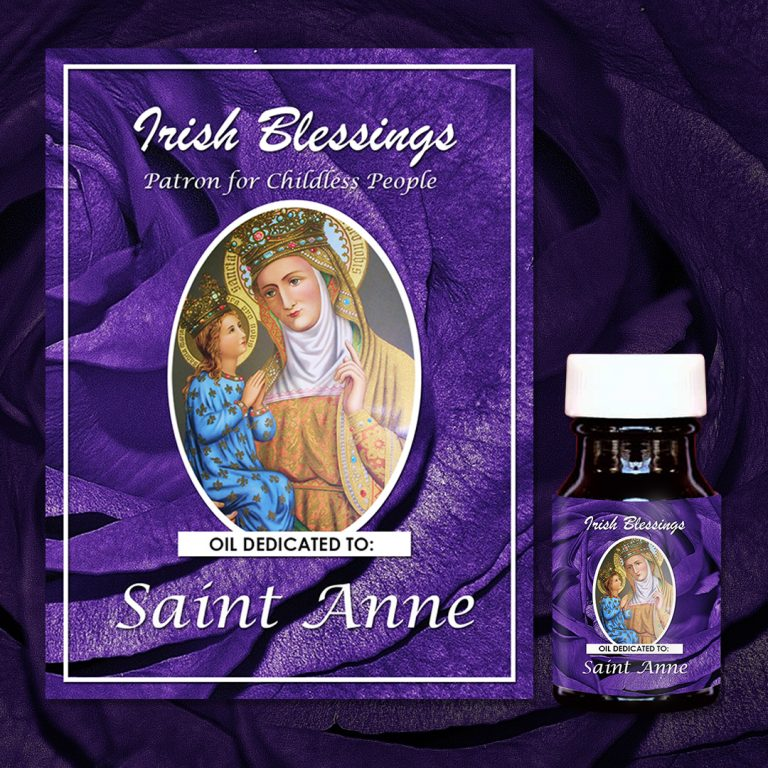 St Anne Healing Oil (Patron for Childless People)