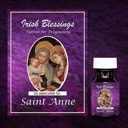St Anne Healing Oil (Patron for Pregnancy)