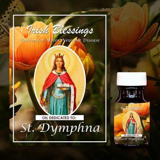 St Dymphna Healing Oil 3 (Patron for Motor Neurone Disease)