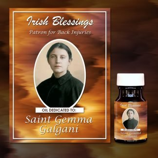 St Gemma Healing Oil (Patron for those suffering from Migraines)