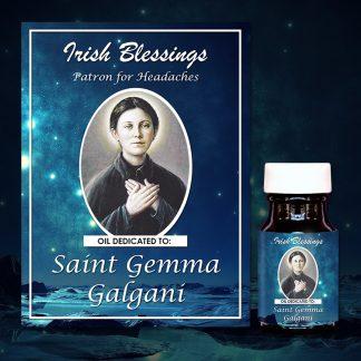 St-Gemma-Galgani Healing Oil (Patron for Headaches)