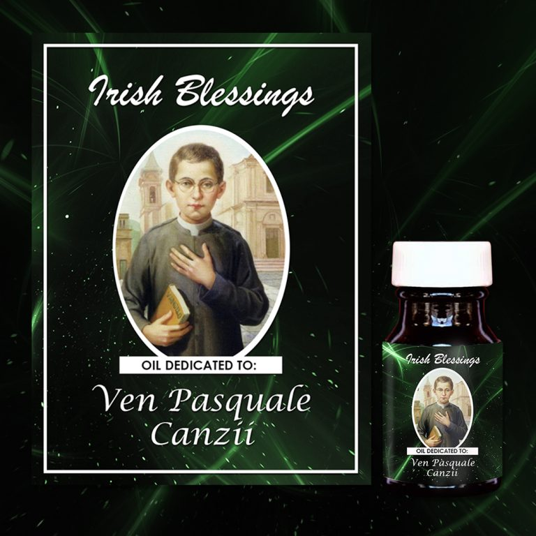 Ven Pasquale Canzii Healing Oil